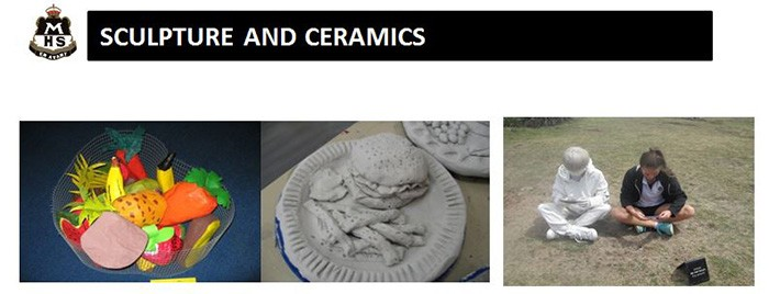 Sculptures and ceramics heading