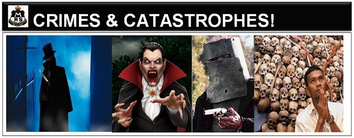 crimes and catastrophes banner